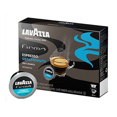 espresso decaffeinato lavazza firma