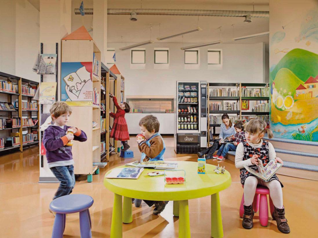 Gedap - Distributori Automatici a scuola