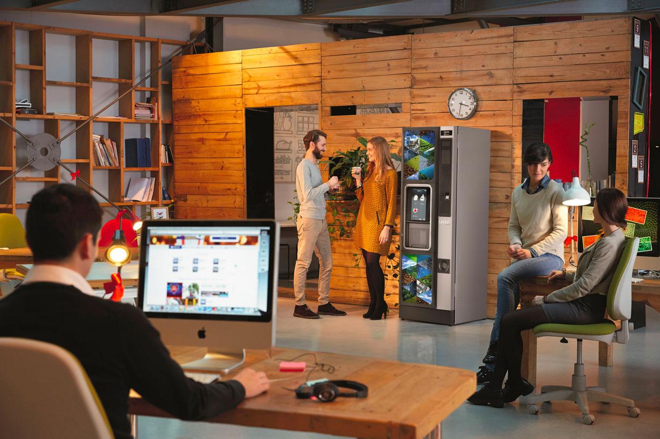 Distributore Opera Touch Caffè in ufficio