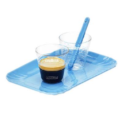 set seletti per lavazza tazzine e vassoio azzurro