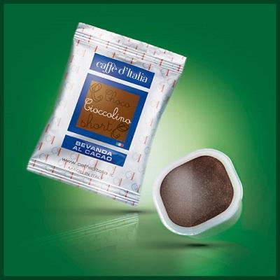 caffè d'italia cioccolino compostabile
