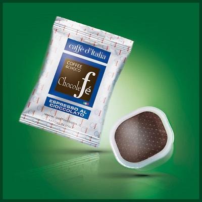 caffè d'italia caffè al cioccolato compostabile