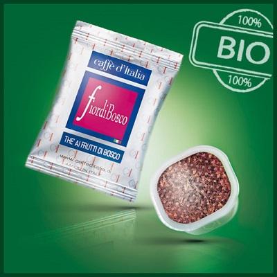 caffè d'italia fiordibosco compostabile e bio