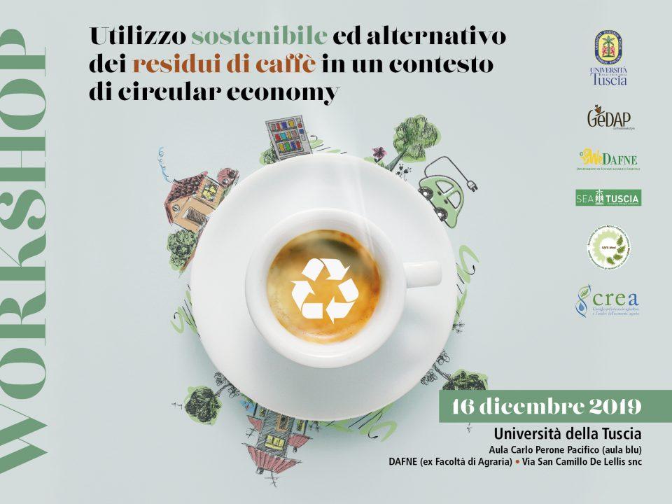 il caffè sostenibile gedap dai fondi di caffè