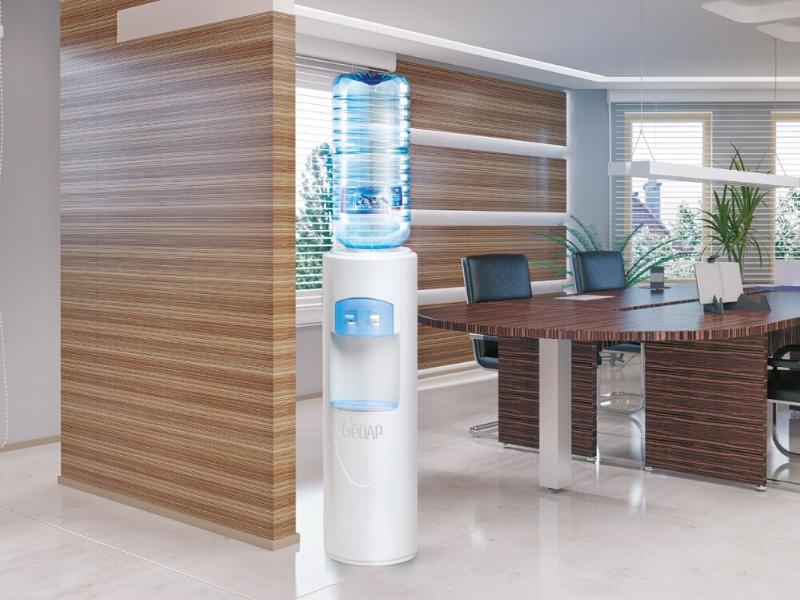 gedap acqua in boccione in ufficio