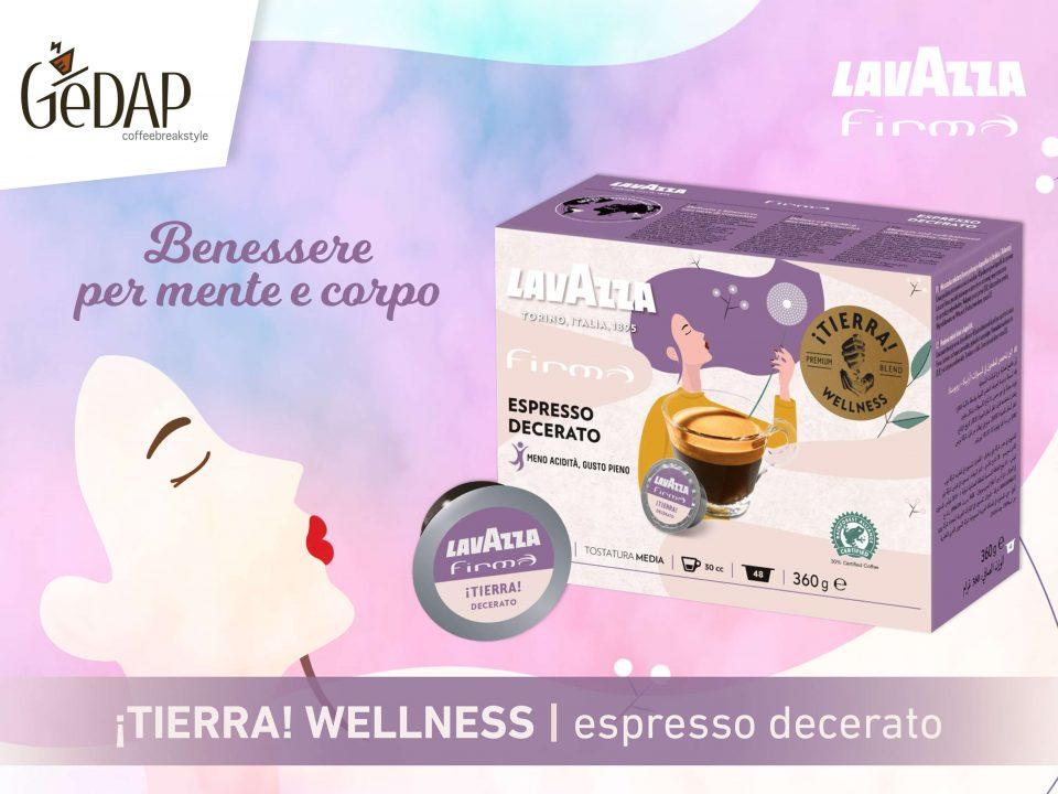 Tierra Wellness Firma caffè decerato