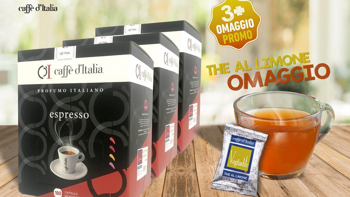 promo caffè d Italia - sconto più omaggio