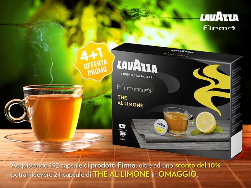 promo lavazza firma omaggio the al limone